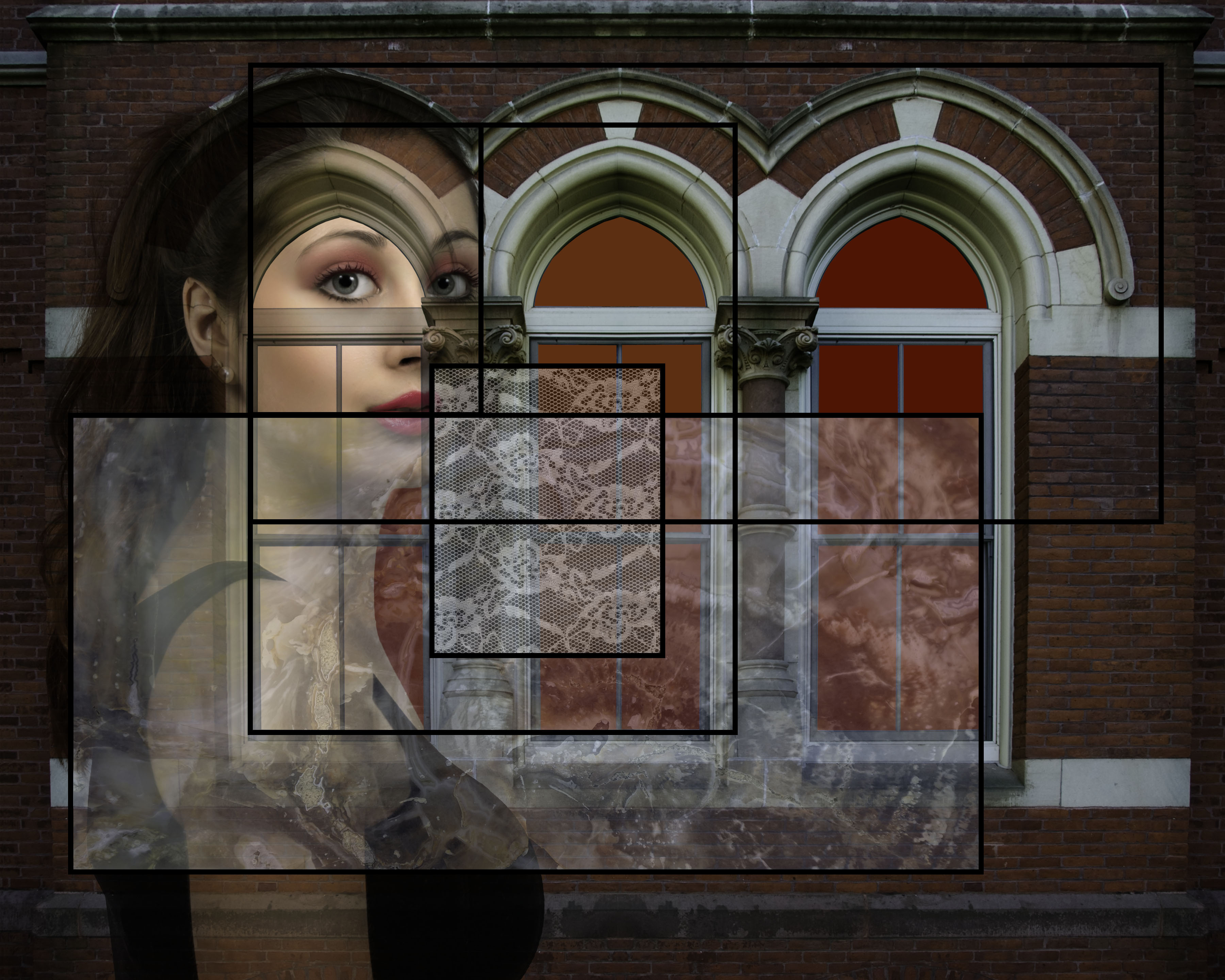 Girl in Stained Glass